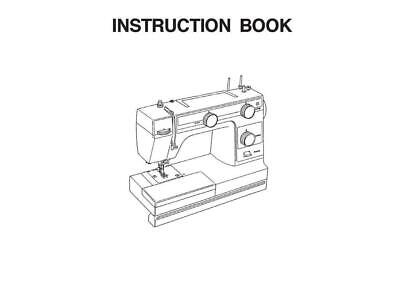 Necchi HD22 Sewing Machine Manual Instructions User Guide