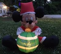Mickey Mouse Inflatable Gemmy Disney Holiday Yard Decor ...