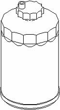 1/2-28 Aluminum 11pcs Fuel Solvent Trap Filter 1x6 for