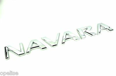 Genuine New NISSAN NAVARA REAR BADGE Emblem D40 2005-2014