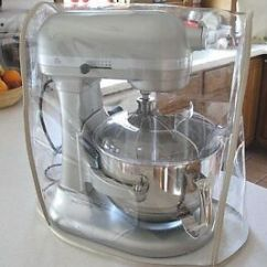 Kitchen Aid Mixers Steam Cleaner For Bathrooms And Kitchens Almond Trim Clear Mixer Cover Fits Kitchenaid Bowl Lift Stand Image Is Loading