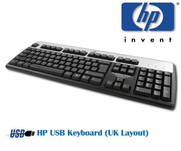 HP USB Keyboard Computer