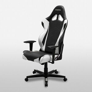 gaming chair ebay rattan dining dxracer office chairs oh re0 nw fnatic racing seats image is loading