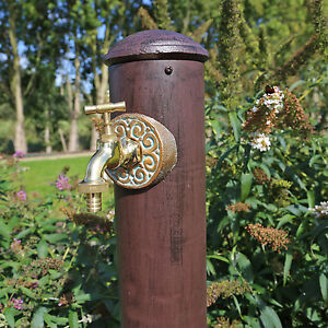 Wasser Zapfstelle Garten Wasserhahn Mit Stand Säule