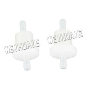 2x In Line Fuel Filter For Yamaha 2001 F4 F6 F8 T8 F9.9 T9
