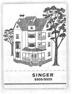 Singer 5505-5525 Sewing Machine/Embroidery/Serger Owners