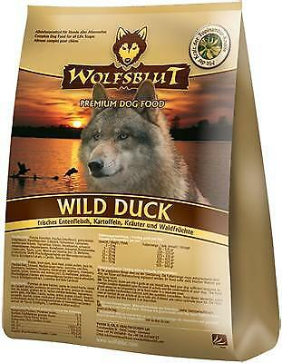 Wolfsblut Wild Duck 15 kg Hundefutter