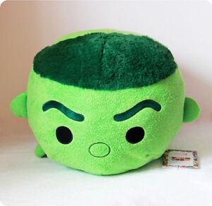details about disney store marvel hulk large 18 tsum tsum plush toy pillow cushion