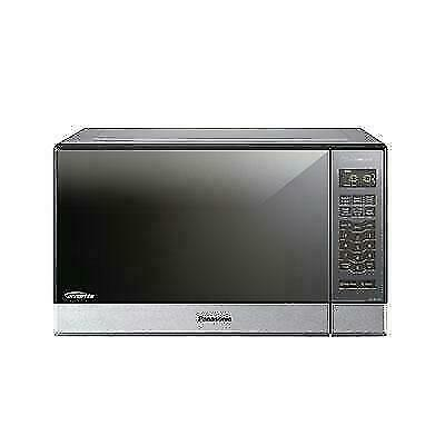 panasonic nn sn686sr 1 2 cu ft 1200w built in microwave oven stainless steel