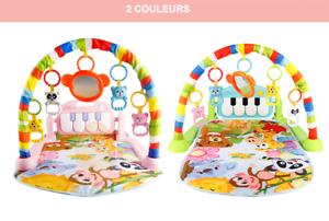 details sur portique bebe tapis d eveil jeu educatif arceau piano musical jouet suspendus fr