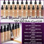 Younique Mineral Touch Cream Foundation Organza Shade For Sale Online Ebay