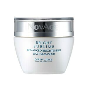 Bright Sublime Advanced Brightening Day Cream BY ORIFLAME   eBay