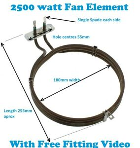 baumatic oven element wiring diagram venn problems with solutions pdf 2500w cooker fan ebay image is loading