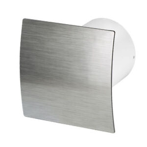 kitchen ventilator sink overflow bathroom extractor fan with timer 150mm 6 silver details about wes150t