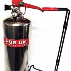 Vans Kitchen Vintage Stoves Chrome 2 Kg Dry Powder Abc Fire Extinguisher Home Office Image Is Loading