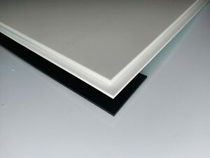 Mousse Rigide Pvc Plaque Predecoupe Blanc 1000 X 500 X 10 Mm Ebay