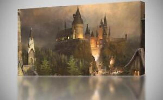 Hogwarts Harry Potter Canvas Print Wall Art Decor Giclee