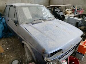 1989 Ford Fiesta XR2 Mk2, 1 previous owner, 75k miles, Restoration Project