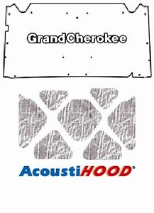 1992 1998 Jeep Grand Cherokee XJ Under Hood Cover with J