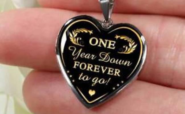 Wedding 1 Year Anniversary Valentine S Luxury Necklace