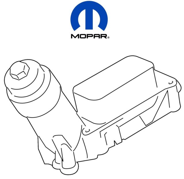 For Chrysler Dodge Jeep Wrangler 3.6 Oil Filter Housing