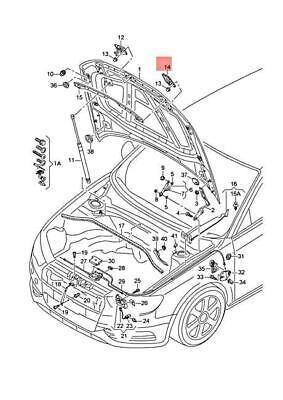 Genuine AUDI A3 Cabriolet S3 Sportback Lim. quattro