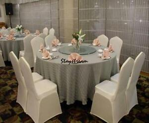 universal wedding chair covers child patio white polyester spandex wholesale lots 100pcs