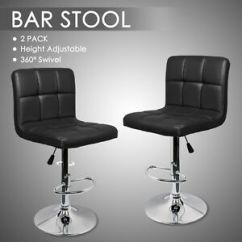 Kitchen Breakfast Bars Carnage Best Stools 2018 Ebay 2 Bar Swivel Barstools Chair Leather Chrome Gas Lift