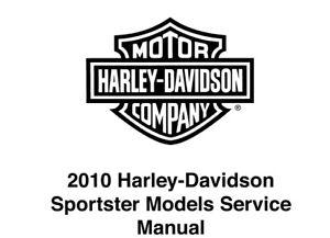 2010 Harley Davidson Sportster Models SERVICE REPAIR