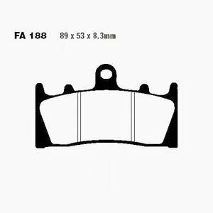 Brake Pads Sinter Hh EBC Front Fa188hh Suzuki Gsx-R 1000