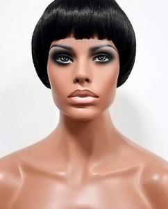Mushroom Cut Wig : mushroom, Anytime, Selfie, Resistant, Short, Straight, Mushroom