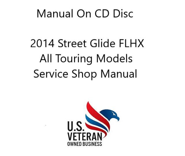 CD Service/Repair Manual For 2014 Harley Davidson Street