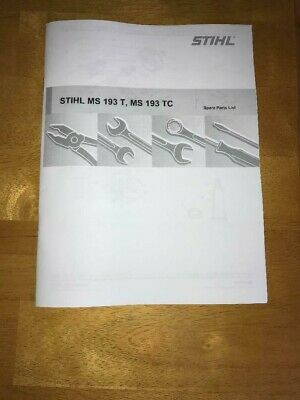 Stihl Ms 193 Parts Diagram : stihl, parts, diagram, MS193T, Stihl, Chainsaw, Illustrated, Parts, Diagram, Manual
