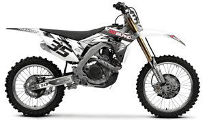 2006 2007 HONDA CRF 250R DIRT BIKE GRAPHICS KIT CRF250R MX