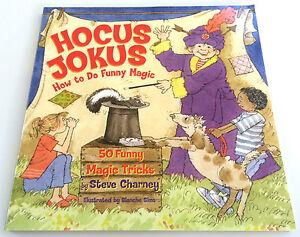 HOCUS JOKUS BOOK How to Do Funny MAGIC TRICKS 50 Easy ...