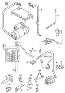 Genuine VW Bora Clasico Jetta Golf Variant wiring set for
