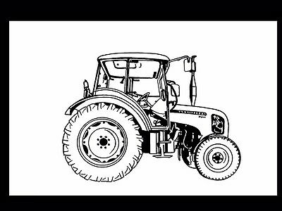 ZETOR 3321 3341 4341 7341 OPERATIONS MANUAL 230pg for