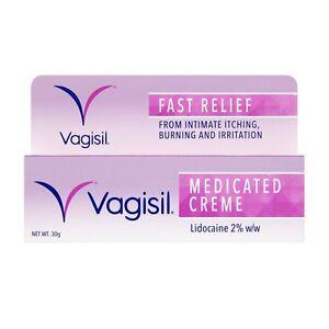 Vagisil Lidocaine Vaginal Cream - 30g 5010724530023 | eBay