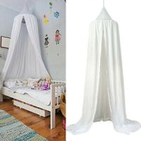 Kids Baby Bedding Round Dome Bed Canopy Netting Bedcover