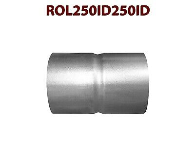 2 1 2 id to 2 5 id universal exhaust pipe coupling connector adapter coupler ebay