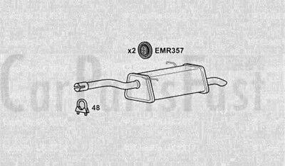 Exhaust Rear Box Citroen Berlingo Multispace 1.6 Diesel