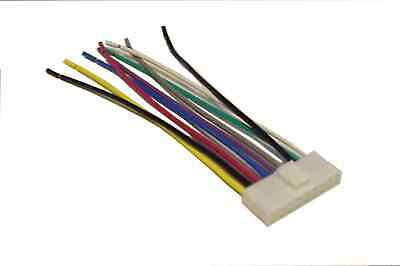 Sony Wiring Harness Car Stereo 9 Pin Wire Connector