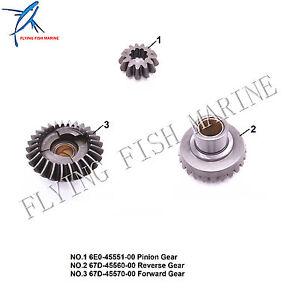 6E0-45551-00 Pinion 67D-45560-00 Reverse 67D-45570-00