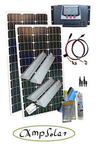 30ampere ladestecker wiring diagram for electrical outlets solarmodul solaranlage wohnmobil 200 watt mit 30 ampere laderegler