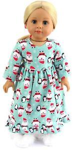 santa nightgown christmas & hair