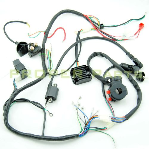 small resolution of complete electrics atv quad 200cc 250cc cdi coil wiring harness lifan 125 wiring harness lifan wiring harness