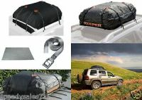 Keeper Cargo Bag, Roof Mat, Lashing Strap Bundle FOR USE