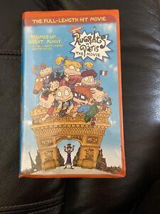 Nickelodeon Paris : nickelodeon, paris, Rugrats, Paris:, Movie, (VHS,, 2001), Nickelodeon, 97363367239
