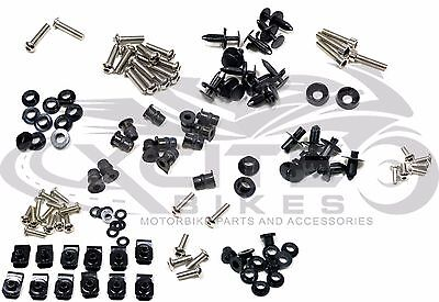 Fairing bolts kit, stainless steel, Suzuki GSXR 600 750