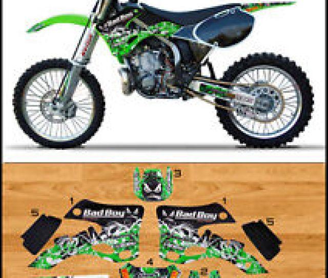 Image Is Loading Bad Boy Motocross Graphics Kawasaki Kx 125 250
